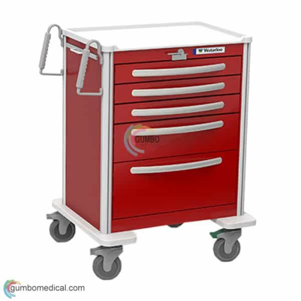 Waterloo 5 Drawer Medium Model UMRLA 33369 Red