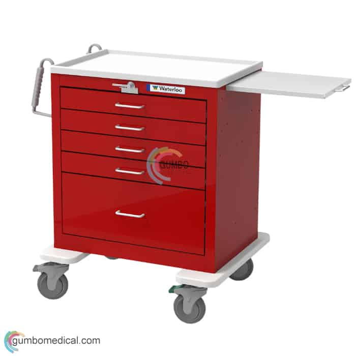 Waterloo 5 Drawer Short Model USRLU 33339 Red