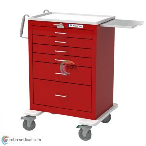 Waterloo 6 Drawer Tall Model UTRLA 3333369 Red