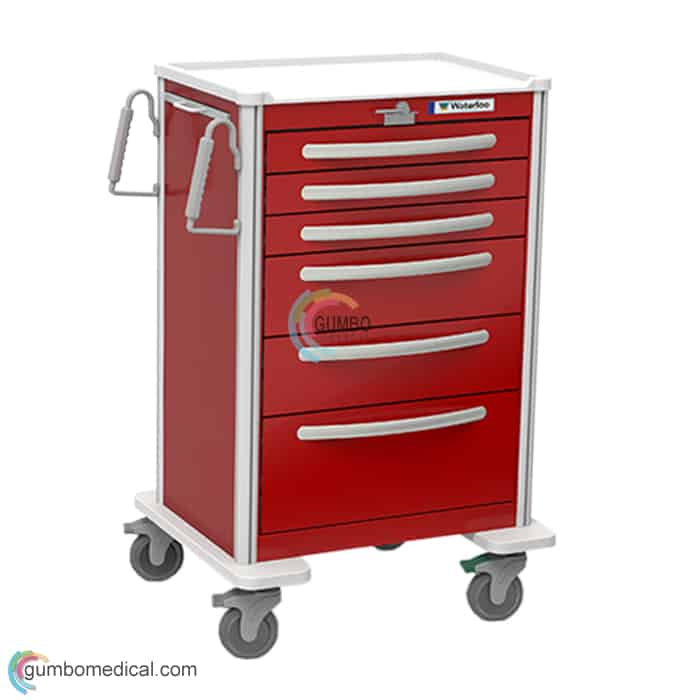Waterloo 6 Drawer X Tall Model UXRLA 333669 Red