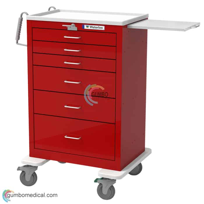 Waterloo 6 Drawer X Tall Model UXRLU 33369 Red