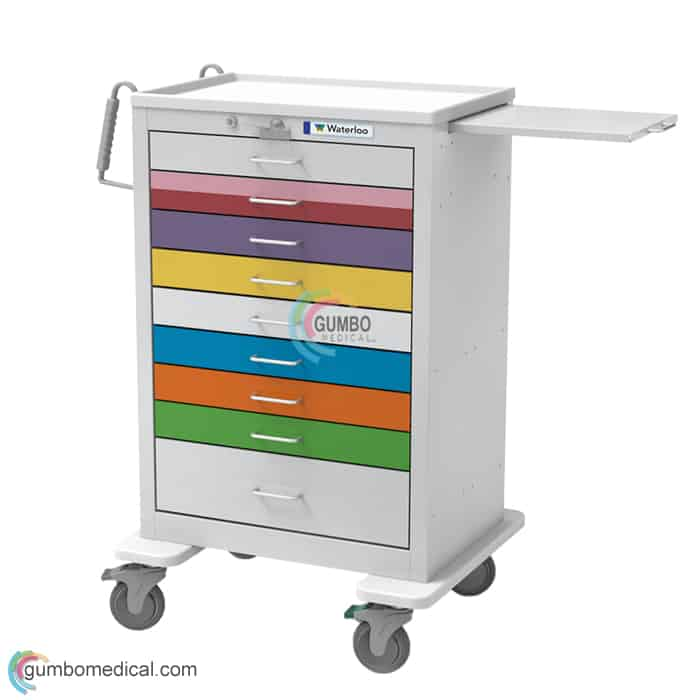 Waterloo 9 Drawer Tall Pediatric Model UXGLU 9PEDS