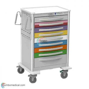 Waterloo 9 Drawer X Tall Pediatric Model UXGLA 9PEDS