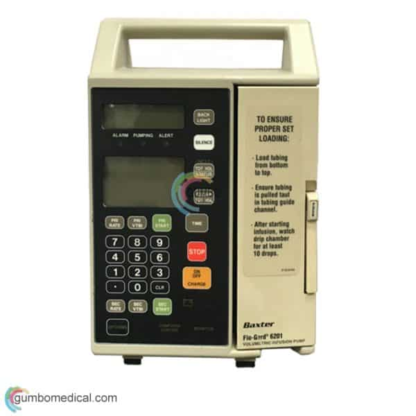 BaxterFlo Gard 6201 Volumetric Infusion Pump