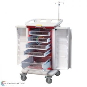 Waterloo E.R. Crash Cart Model ER2000 B OR R