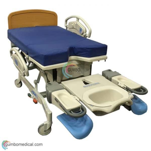 Hill-Rom Affinity 4 P3700 Birthing Bed With Sto-N-Go