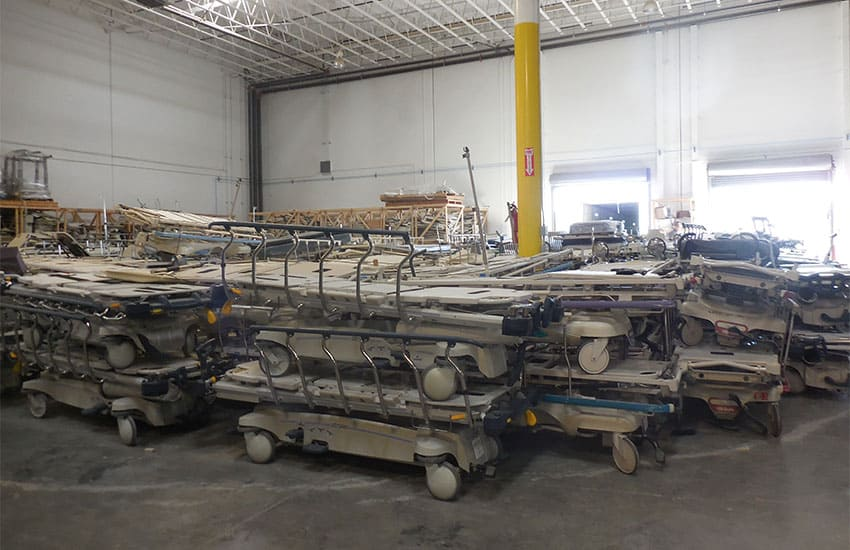 Equipment In The Warehouse