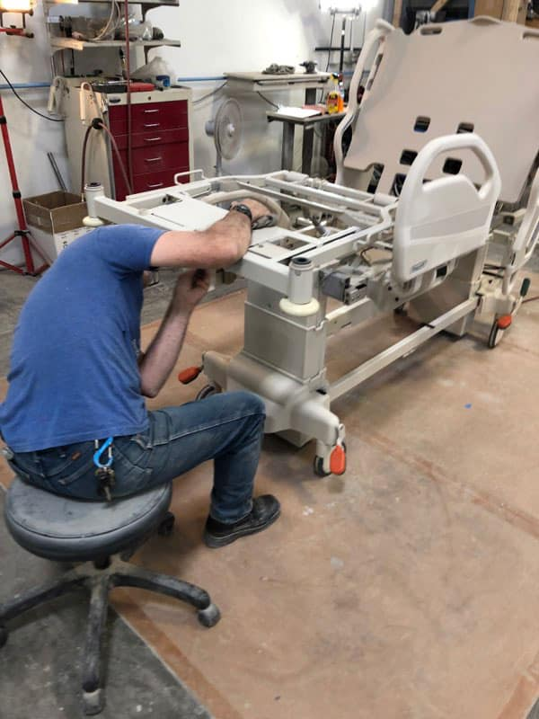 Refurbishing Medical Bed
