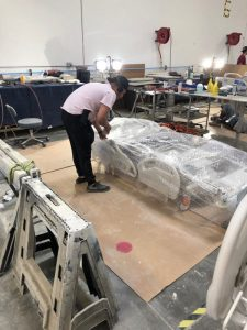 Bubble Wrapped Medical Bed